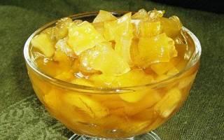Компот из кабачков с соком ананаса