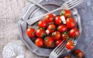 Как засолить помидоры черри?