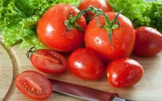 Пикантные помидоры с чесноком быстрого приготовления