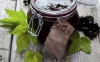 Как сделать джем из смородины черной?