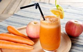 Сок яблочно морковный на зиму рецепты