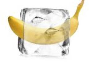Можно ли замораживать бананы для хранения?
