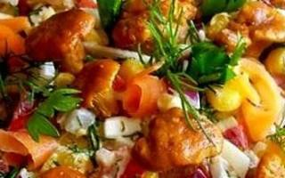 Что приготовить из соленых рыжиков рецепты?