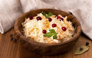 Рецепт квашеной капусты домашней быстрого приготовления