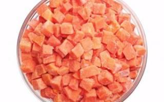 Как заморозить морковь на зиму в морозилке?