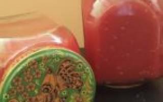 Как сделать приправу из помидор и чеснока?