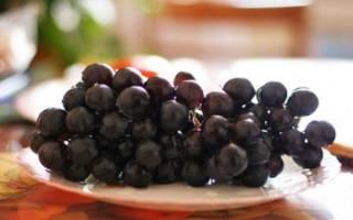 Как сохранить кисти винограда на зиму?
