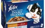 Из чего делают корм для кошек феликс?