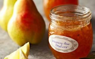 Что приготовить из груши на зиму рецепты?