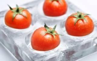 Как заморозить томаты на зиму в морозилке – можно ли замораживать помидоры?