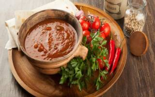 Сацебели рецепт на зиму из помидор