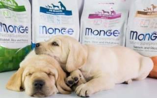 Монж корм для собак состав